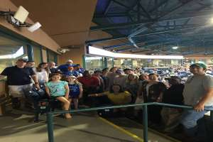 Stuart Law Firm Goes to the Durham Bulls Athletic Park for Summer Outing